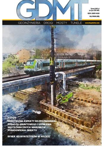 Czasopismo GDMT geoinżynieria drogi mosty tunele 4/2018 [65]