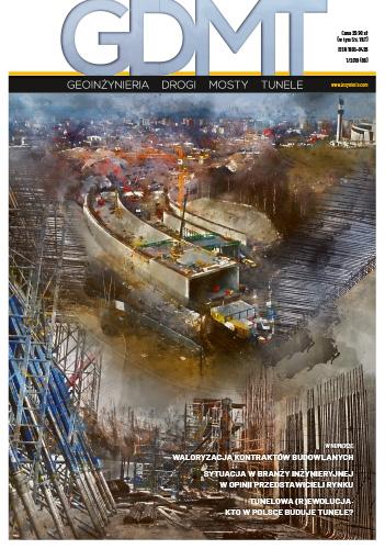 Czasopismo GDMT geoinżynieria drogi mosty tunele 1/2019 [66]