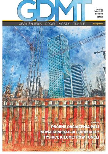 Czasopismo GDMT geoinżynieria drogi mosty tunele 3/2019 [68]