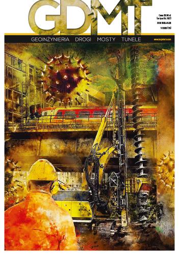Czasopismo GDMT geoinżynieria drogi mosty tunele 1/2020 [70]