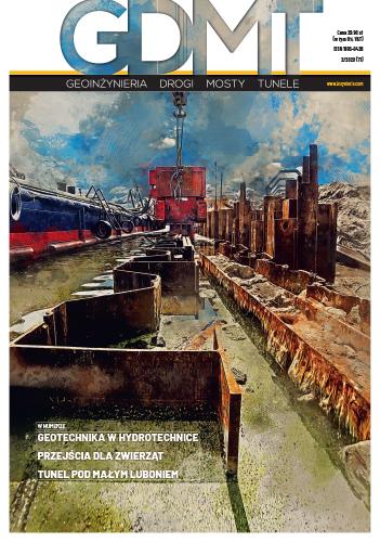 Czasopismo GDMT geoinżynieria drogi mosty tunele 2/2020 [71]