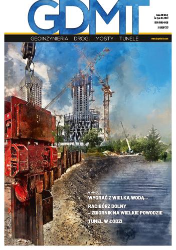 Czasopismo GDMT geoinżynieria drogi mosty tunele 3/2020 [72]