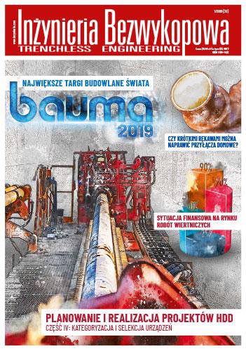 Czasopismo Inżynieria Bezwykopowa 1/2019 [73]