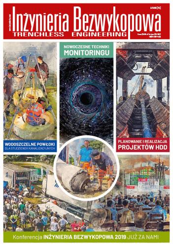Czasopismo Inżynieria Bezwykopowa 3/2019 [75]