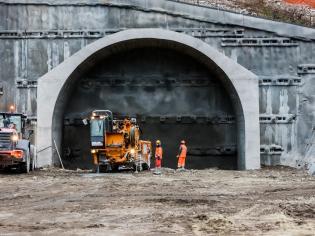 Budowa najdłuższego tunelu kolejowego na świecie. Fot. bbt-se