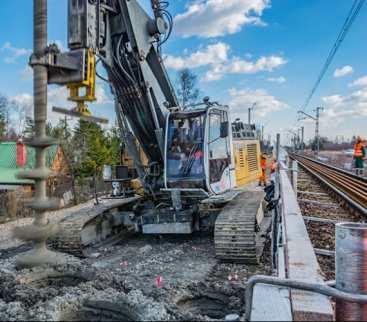 Kompleksowe wzmocnienie podtorza na odcinku linii kolejowej  pomiędzy Katowicami a Krakowem avatar