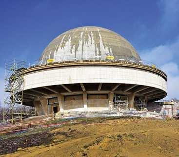 Zintegrowany system monitoringu przemieszczeń w przebudowywanym Planetarium Śląskim w Chorzowie avatar