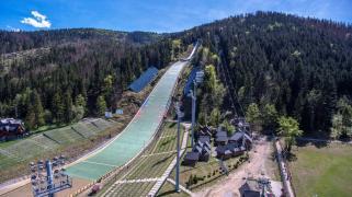 Wielka Krokiew – zdjęcia z drona. Fot. Facebook.com/cosopozakopane