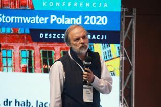 STORMWATER Poland 2020. Prof. dr hab. Jacek Piskozub, Instytut Oceanologii PAN w Sopocie. Fot. inzynieria.com