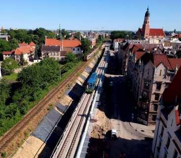 Wiadukty kolejowe w Krakowie przeszły próby obciążeniowe