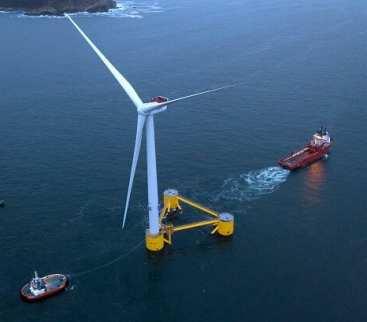 Pierwsza pływająca morska farma wiatrowa w Europie kontynentalnej avatar