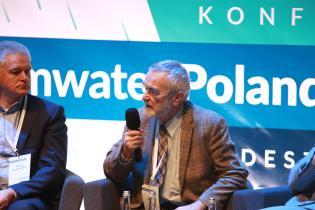 STORMWATER Poland 2020.  Józef Jeleński, JOT Doradztwo Inwestycyjno-Budowlane. Fot. inzynieria.com