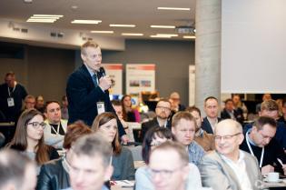 Dyskusja podczas II Konferencji CIPP Technology Days 2018. Dr inż. Andrzej Kolonko, Politechnika Wrocławska / fot. Quality Studio dla www.inzynieria.com