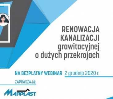 Już jutro webinarium o renowacji kanalizacji grawitacyjnej! avatar