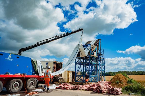 Zdjęcie Renowacja kanału z wykorzystaniem technologii CIPP; firma Aarsleff sp. z o.o. Fot. Quality Studio
