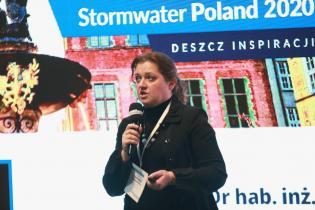 STORMWATER Poland 2020. Dr hab. inż. Agnieszka Generowicz, Politechnika Krakowska. Fot. inzynieria.com