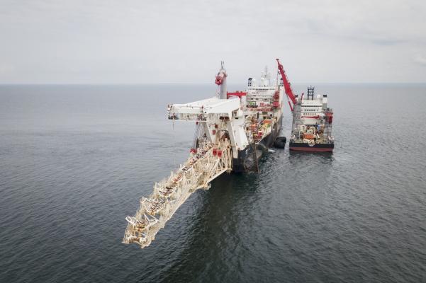Zdjęcie Budowa gazociągu Nord Stream 2. Fot. nord-stream2.com