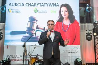 Paweł Kośmider, Wydawnictwo INŻYNIERIA sp. z .o.o. Uroczysta gala i aukcja na rzecz Fundacji Anny Dymnej