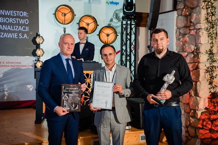 Laureaci i wyróżnieni w kategorii Projekt roku – nowa instalacja. Fot. Quality Studio dla inzynieria.com