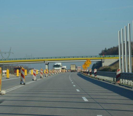 Tuszyn–Częstochowa: nowy fragment A1 dostępny na czterech pasach