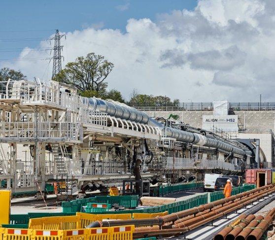 Wielka Brytania: 10 maszyn TBM w projekcie HS2. Pierwsza już rusza [film]