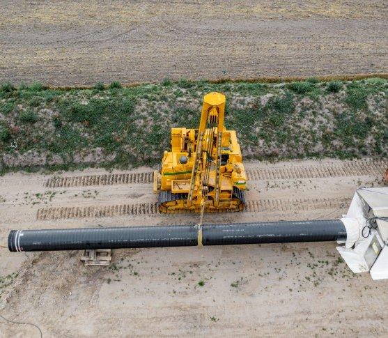 Baltic Pipe w Danii: trzy miesiące opóźnienia, wznowienie części prac