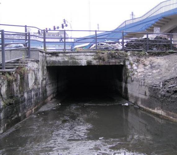Naprawa kanału fosy miejskiej we Wrocławiu