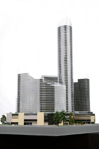 Rys. 1. Wizualizacja kompleksu Sky Tower