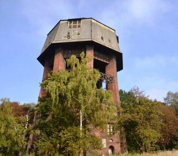 Rewitalizacja wieży ciśnień w Zabrzu [wizualizacje]