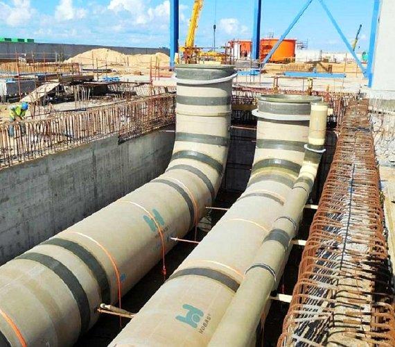 Rury Hobas od Amiblu w egipskim megaprojekcie Siemensa