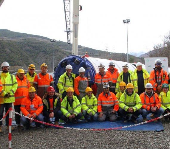 Mikrotunelowanie na budowie gazociągu TAP