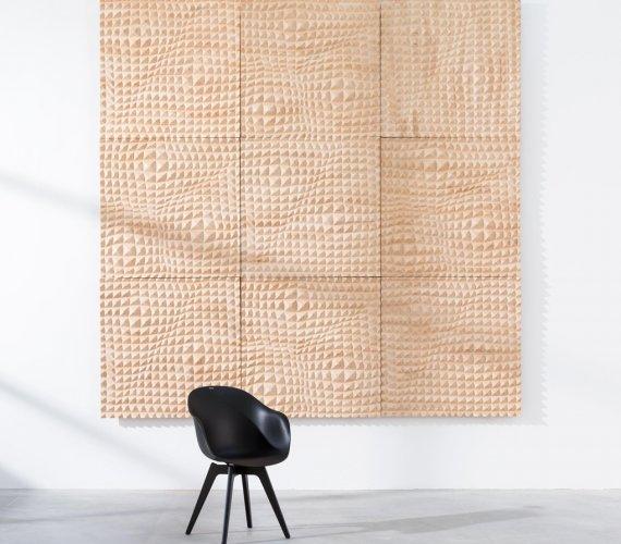 Drewniane panele akustyczne do mieszkania