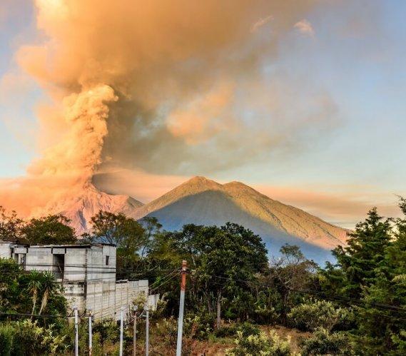 Gwatemala: wybuch wulkanu Fuego