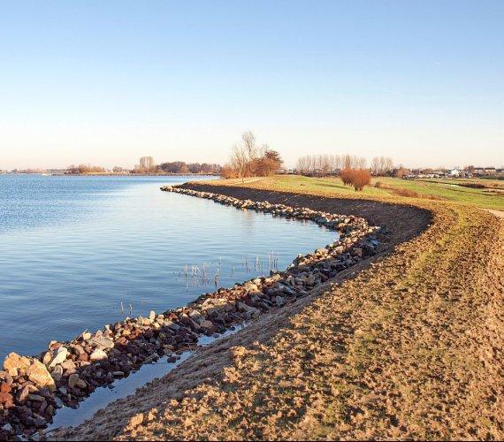 Modernizacja wałów przeciwpowodziowych Wisły: I etap zakończony