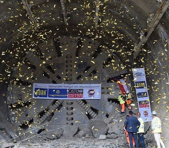 Jeden z najdłuższych tuneli kolejowych w Niemczech prawie gotowy