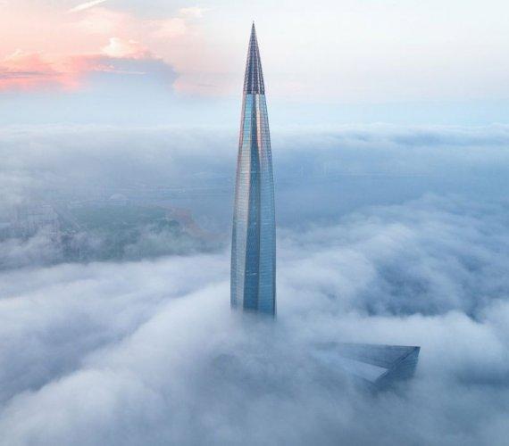 Zakończyła się budowa najwyższego budynku w Europie