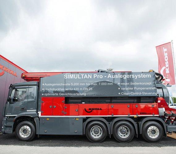 Sezam Instal zaprezentował na targach WOD-KAN wyjątkowy pojazd