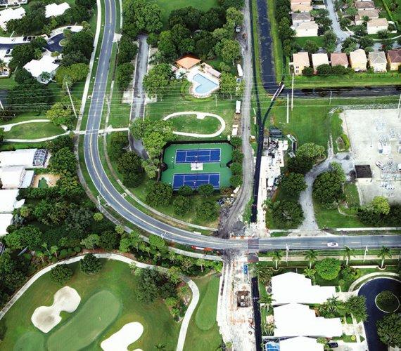 Rehabilitacja kolektora  w West Palm Beach na Florydzie