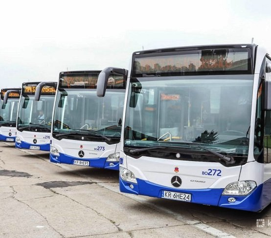 Kraków: 100% ekologicznych autobusów