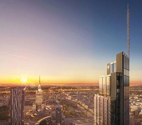 Varso Tower – próbne obciążanie baret na skalę, jakiej jeszcze w Polsce nie było