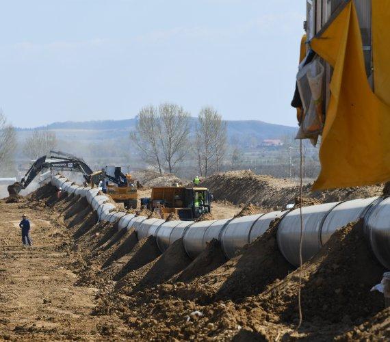 Gazociągi TAP i TANAP połączone złotym spawem