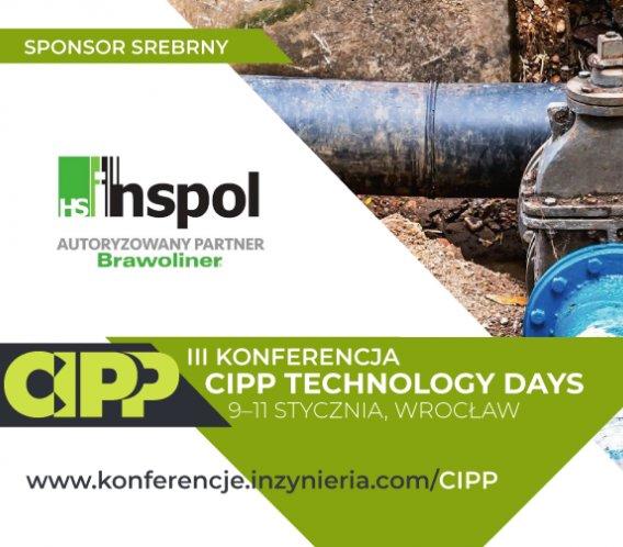 h.s. INSPOL w gronie Srebrnych Sponsorów III Konferencji CIPP Technology Days