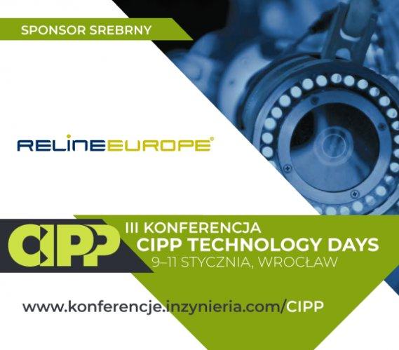 RELINEEUROPE w gronie Sponsorów Srebrnych CIPP Technology Days 2019