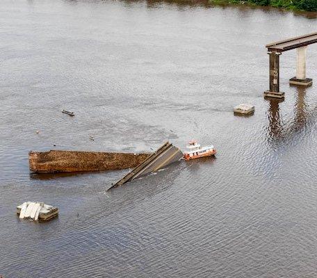 Brazylia: runął 200-metrowy odcinek mostu