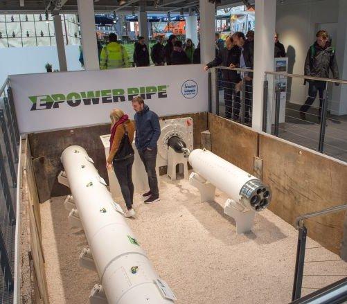 E-Power Pipe® firmy Herrenknecht nagrodzona na targach Bauma 2019