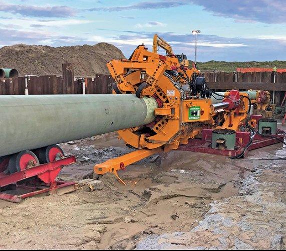 Przekroczenie  Zatoki Meksykańskiej  wtechnologii Direct Pipe