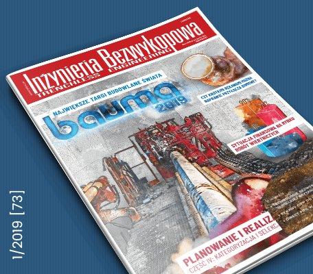 """""""Inżynieria Bezwykopowa"""" – najnowsze wydanie dostępne online"""