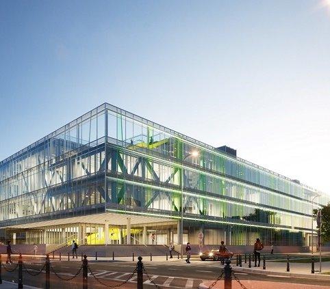 Nowy budynek Uniwersytetu Warszawskiego [wizualizacje]