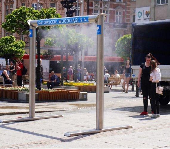 Kurtyny wodne na ulicach polskich miast