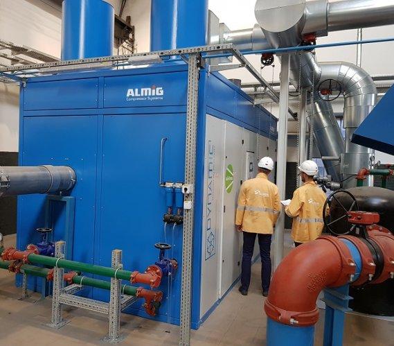 W Brzeszczu działa nowa stacja produkująca sprężone powietrze